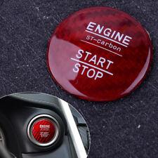 Carbon Fiber Engine Start Stop Button Cover Trim for LEXUS IS250 350 200T 2014+