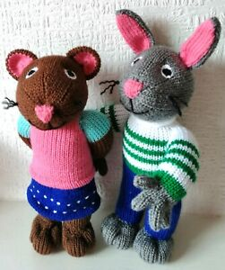 Pip & Posy Unofficial Unbranded Handknitted Toy 31 Cms High