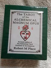 SEALED The Tarot of the Alchemical Magnum Opus by Robert M. Place NEW!!!