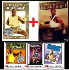 Billy Blanks TAEBO AB BOOTCAMP + Tae Bo Boot Camp 1 +FREE Health/Fitness Bonuses