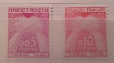 Timbres France neufs sans charnière Taxes type Gerbes 1960