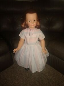 "Ideal Patti PLAY PAL doll 35"" Vintage No Bangs -Rare"