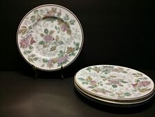 "Set of 4 Wedgwood Avon W3983 Multicolor Bread & Buetter Plate 6"" - Excellent"