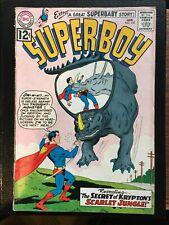 Superboy #102 Jan 1963 - The Secret of Krypton's Scarlet Jungle