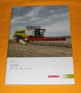 Claas Lexion 2015 Mähdrescher Prospekt Combine Brochure Catalogue Depliant