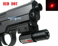 Mini Red Dot Laser Sight Picatinny Mount For Gun Rifle Scope Hunting