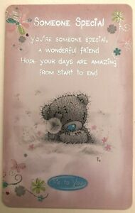 Keepsake plastic wallet card - many occasions and designs Tatty Teddy included