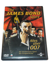 THE JAMES BOND STORY ALLES ÜBER 007 CONNERY LAZENBY MOORE DALTON  BROSNAN DVD