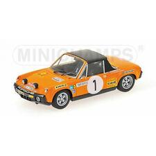 1/43 Porsche 914/6 1971 Monte Carlo Rally Modèle Moulé Minichamps
