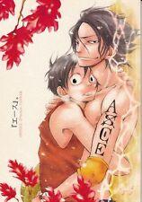 One Piece BL Doujinshi Dojinshi Comic Ace x Luffy Ace Omame Makoto Imada