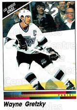 1990-91 Panini Stickers #242 Wayne Gretzky