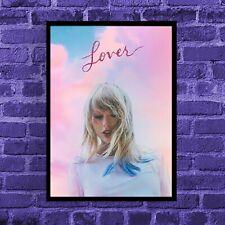 Taylor Swift 'Lover' Printed Wall Art Poster | Satin Poster Print