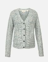 Fat Face - Women's - Chloe Cardi - 75% Cotton - Blue - BNWT