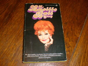 The Lucille Ball Story PAPERBOOK AUTOGRAPHED