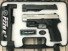 Fully Upgrade Marui P226E2 Airsoft GBB-Stainless Steel Slide + All Steel Parts