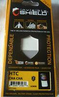 Zagg Invisible Shield Screen Protector HTC CHA CHA (1st class p+p)