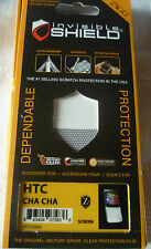Zagg Invisible Shield Screen Protector HTC CHA CHA (1st class p+p)
