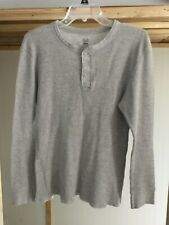 mens long under wear top brand fruit of the loom size xl color gray