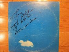 Alan White signed Plastic Ono Band LP coa + Proof! autographed Beatles Yes