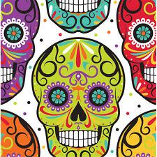 16 halloween le jour des morts serviettes sugar skull party tableware dia das muertos
