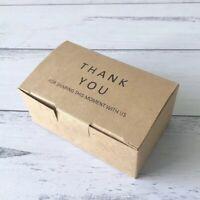25x Purple Kraft Gift Favour Bags Birthday Party Wedding Bomboniere Event Favour
