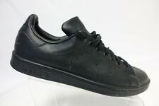 ADIDAS Stan Smith Black Sz 11 Men Leather Sneakers