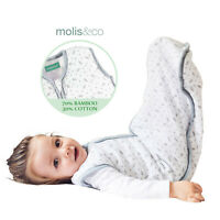 Baby Kids Sleeping Bag Bamboo Cotton Muslin Sleep Sack Summer Wearable Blanket
