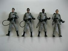 MATTEL CLASSIC GHOSTBUSTERS 100% COMPLETE 4 FIGURE SET W/ PROTON PACKS KENNER