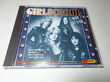 Girlschool - C'Mon Let's Go 1991 UK Import Hard Rock Near Perfect Condition