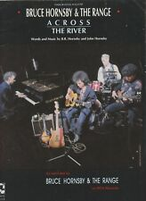 Across The River - Bruce Hornsby & The Range - 1990 US Sheet Music