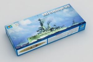 TRUMPETER 06705 1/700 WWⅠ HMS DREADNOUGHT 1915 PLASTIC BATTLESHIP MODEL KIT