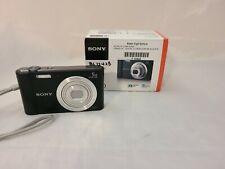 Open Box - Sony Cyber-Shot DSC-W800 20.1 MP Camera - BLACK - 027242877115