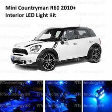BLUE PREMIUM MINI COUNTRYMAN R60 2010+ LED INTERIOR UPGRADE KIT SET XENON