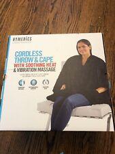 Homedics Comfort Pro Transform Cordless Convertible Throw Heat & Vibration
