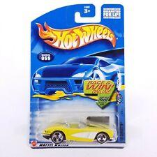 Hot Wheels '58 Corvette #069 3/4 2002 Mattel Wheels, Yellow - 54339