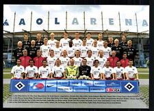 Original Mannschaftskarte Hamburger SV 2003-04 TOP +A 95879 OU