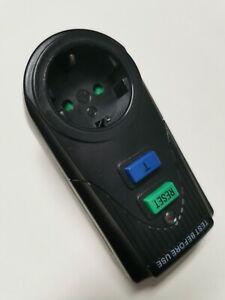 FI - Personenschutzstecker Fehlerstrom Schutz Schalter IP40 mit 3600 Watt 30mA