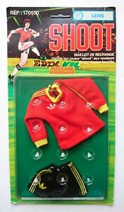 Shoot Meccano Football Lens FC French side. For Action Man figures 1978