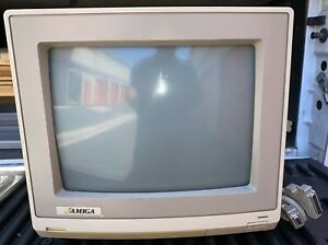 Commodore Amiga 1080 Display Monitor with 23 Pin Cable Parts or Repair