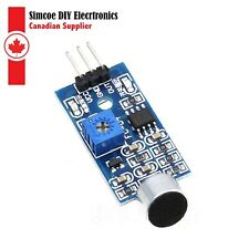 LM393 Sound Detector Voice Sensor Module PCB Board for Arduino and RPI  #299