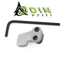 Odin Works XMR Enlarged Extended Mag Release Paddle & Button - Gunmetal Grey