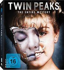 TWIN PEAKS: THE ENTIRE MYSTERY (komplette TV-Serie + Kinofilm) 10 Blu-ray Discs