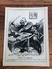 "1914 cartoon print "" made in germany "" kaiser !"