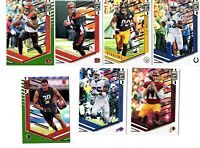 2018 DONRUSS ELITE FOOTBALL LOT OF 18 CARDS INCL 4 GREEN PARALLELS & 2 ROOKIEs