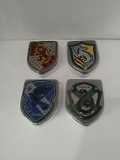 Lot of 4 Harry Potter Jelly Beans House Tins Gryffindor Slytherin Hufflepuff