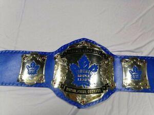 Toronto Mapleleaf championship leather belt adult size