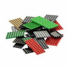 25 x Lego System Bau Platten Basic verschiedene Farben Form zufällig gemischt