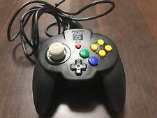 Nintendo 64 Controller HORI PAD Black Color Japan 144