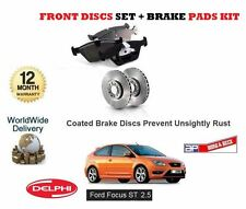 pour Ford Focus ST 2.5 225BHP 2005-2011 NEUF ENSEMBLE DISQUES DE FREIN AVANT +