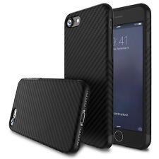 Luxury Shockproof Silica Carbon Fiber Soft Slim Case Cover for iPhone 7 8 8 Plus